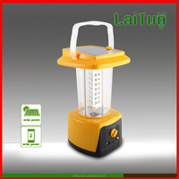 2015 new rechargeable excellent quality portable led solar panel powered camping style lanterns