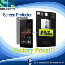 Privacy Screen Protector For Sony Z