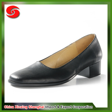 Hot sale cheap anti-abrasion flame retardant waterproof low heel for office shoes