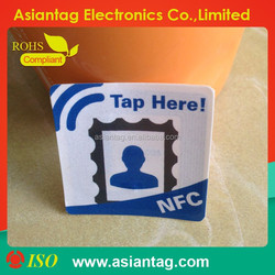 programmable printingrfid nfc tag / label / sticker adhesive