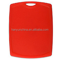 """""""HDPE plastic light weight cutting board/ double sided non-slip antibacterial cutting plate Transactions """""""