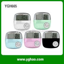 Ygh665 venta al por mayor 2015 nuevos productos digitales podómetro