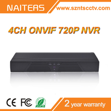 Alibaba Best Selling,Real Time Recording 720P/960P/1080P NVR,ONVIF 4CH CCTV NVR
