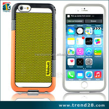 new products 2016 injection mould mix color mobile phone case for iphone 6 plus