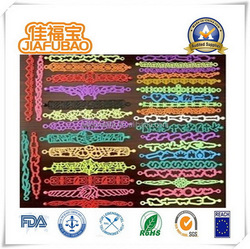 Top quality latest bulk cheap silicone in bracelets
