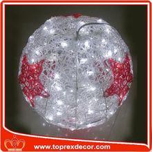 NO Hg Outdoor christmas ball with name