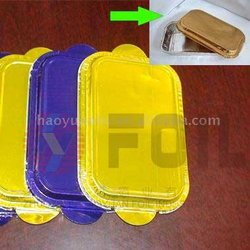 high quality and color aluminum foil cover