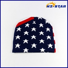 HZM-14249001 United States flag pattern cotton wholesale yiwu supplier hats