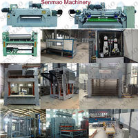 film faced plywood making machine/producing line