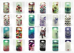 Flower Design TPU Soft Mobile Phone Cases for Samsung Galaxy Trend Lite S7392 S7390