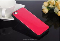 fashion special design tpu+pc with credit card slot glazing surface mobile phone case cover for iphone 4/4s