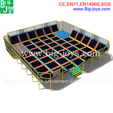 giant indoor trampoline with many combination, high quality trampoline with good price