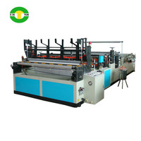 coreless toilet paper roll type paper roll converting machines