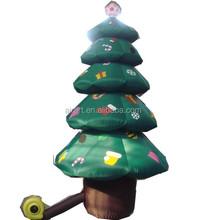 lighting holiday decoration inflatable christmas tree
