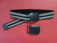 Yixiang Garment accessories 30mm POM plastic belt buckle with end clip
