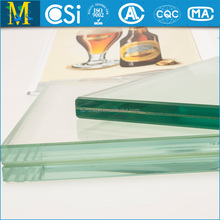 Glass roof made by 8-12MM clear tempered Glass with CCC & CSI certificate