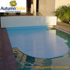 Automatic solar pool cover slats with reducing the heat loss
