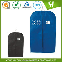 Wholesale Factory Supply Printed non woven/ polyester dry cleaning garment bag