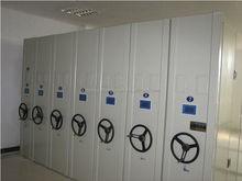 China double side file/documents storage mobile shelving system