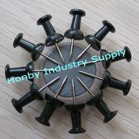 Art And Craft 23mm Handle Shape Black Push Pin