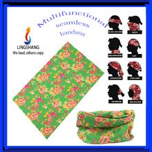 Fashion multifunctional headband high elastic stretch seamless tube bandana