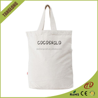 New Type Popular Style Shopping Bag Plain white canvas Tote Bag