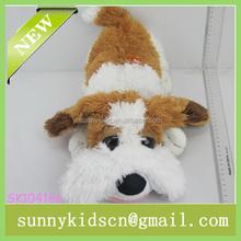 2014 HOT selling plush dog toys stuffed pet toys plush electrical animal toy