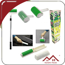 2015 HOT quality sticky lint roller with brush/MINI washable lint roller/sticky lint roller set