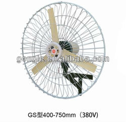 cheap industrial wall mounted air blower fan with good quality