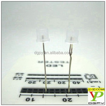 Factory Custom Through Hole Flat top 5mm Led diode Red