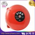 campana roja electrónica de escuela para alarma de seguridad AC 220V/DC24V