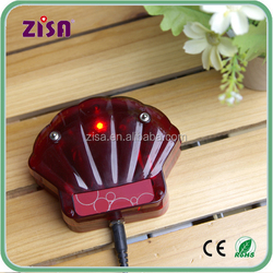 ZISA wireless remote control coaster pager system , restaurant waiter call guest system