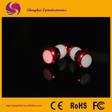 Competitive price-2Pcs Red Bicycle Bike CNC Handle Bar End Bar Plugs Lights LED Lights Pairs,bicycle light