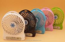 Hot sale rechargeable 5v usb micro electric portable mini desktop mist cooling fan