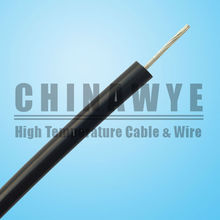 Black Wire 22 AWG UL