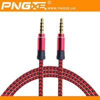 2015 Factory direct selling 3.5mm mini usb audio aux cable for car
