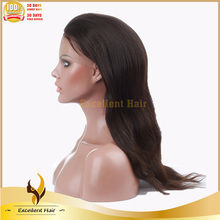 Cheap two tone #1b/#30 natural straight Indian human hair ombre color wig