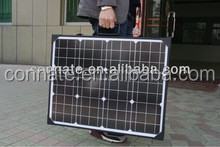 100w High efficiency folding solar panel,foldable solar kit with 5m cable