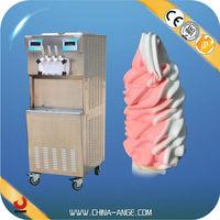 BXR-2258 2 compressor instant ice cream maker / alibaba.com ice cream machine / manual ice cream making machine