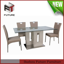 modern european style dining sets China supplier home furniture