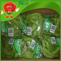 IQF green peas price frozen snow peas