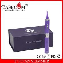 electronic vaporizer pen High Quality 2015 newest titan slimmer dry herb Vaporizer Luxury Packing rex dry herb vaporizer