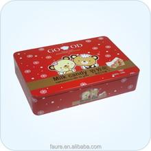 High quality metal tin box