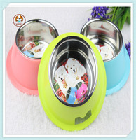 Dog bowl/High quality Plastic wholesale pet feed dog bowl/Pet Dishes
