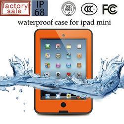 For iPad Mini Waterproof Case, High Quality Hard Plastic Waterprof Case for iPad