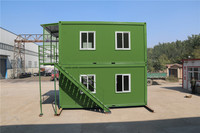 quality standard ablution labor camp container living modular