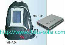Hot sale portable outdoor solar bag