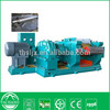 Rubber compound two roll mill for reclaimed rubber refining