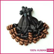 2015 XBL New Brazilian Hair Weave Two Tone Funmi Unprocessed Wholesale Virgin Brazilian Hair