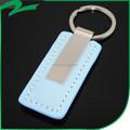 Promocional couro verdadeiro real/artificial couro do plutônio suporte chave anel, chaveiro, chaveiro, chave de cadeia, tag chave